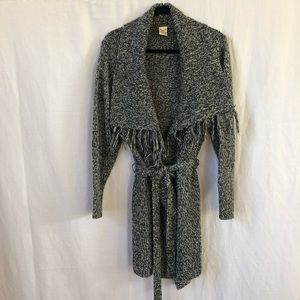 Faded Glory Open Front Cardigan